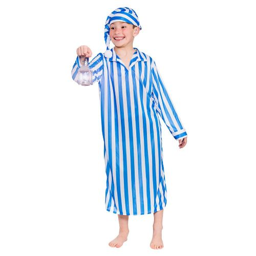 Boys Victorian Willie Winkie Costume for 18th Century Dickensian Fancy Dress